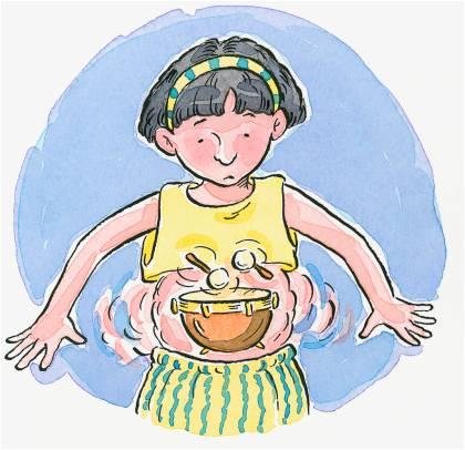 рисунок ребенка с больным животом